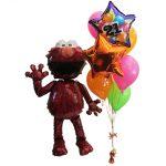 Elmo Airwalker Helium Balloons Perth