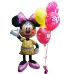 Minnie Mouse Airwalker Helium Balloons Perth