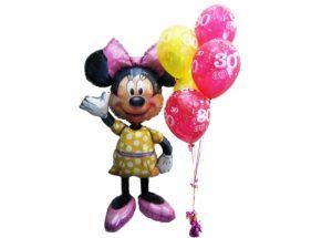 Minnie Mouse Airwalker Helium Balloons Perth