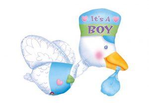 Its a boy stork balloon