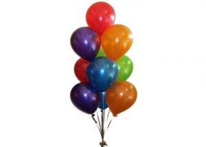 10 Helium Balloon Arrangement