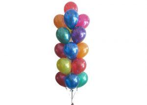 16 Helium Balloon Arrangement