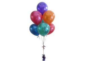 8 Helium Balloon Arrangement