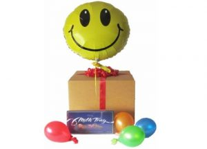Helium Balloon Chocolate Gift Box Perth