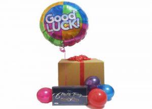 Good Luck Balloon Chocolate Gift Box