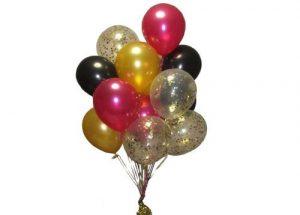 Confetti Cloud Balloon Arrangement