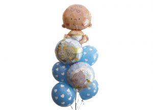 Cute Baby Boy Balloon Bouquet