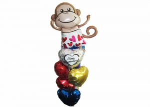 Fun Monkey Balloon Bouquet