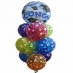Graduate Congratulations Balloon Bouquet