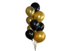 Organic Helium Latex Balloon Arrangement