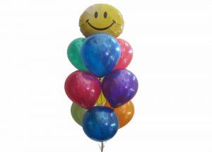 Smiley Face Balloon Bouquet