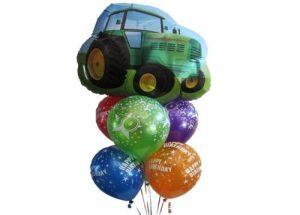 Tractor Birthday Balloon Bouquet