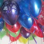 Happy Birthday Helium Balloons Perth