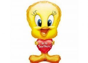 Tweety Bird Be My Tweetheart Balloon