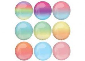 Ombre Orbz Balloon Colours