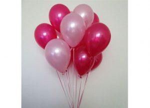 large organic balloon arrangement