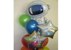 Astronaut Balloon Galaxy