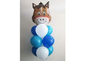 Happy Horse Balloon Bouquet