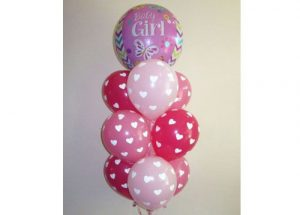 Pretty Baby Balloon Bouquet