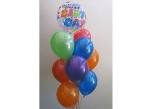 Birthday Bubble Balloon Bouquet