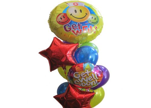 Great Big Get Well Balloon Bouquet